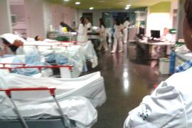 Chaos im Krankenhaus