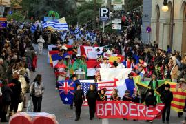 """Karnevalsumzug """"Sa Rua"""" in Palma."""