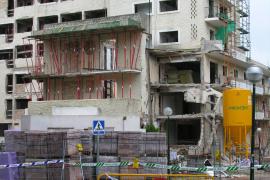 Capdepera: Wo die Baustelle war, soll ein neues Hotel entstehen.