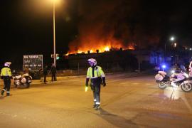 "Großbrand bei ""Spar"" auf Mallorca"