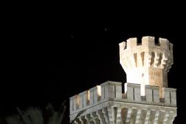 Nachthimmel über Palma: Venus und Jupiter werden so erst wieder im Juni 2015 zu sehen sein.
