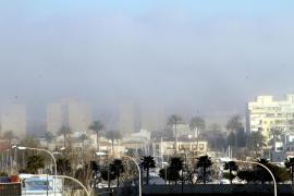 Der Nebel breitete sich zum Teil auch in Palmas Stadtgebiet aus.