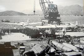 Im Krieg herrschte auf der Basis Hochbetrieb.