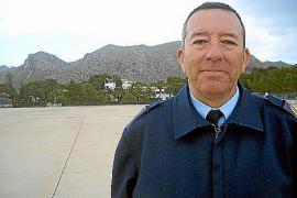 Presseoffizier Juan Antonio Sánchez ist froh, nach seinem Einsatz in Afghanistan wieder auf Mallorca zu sein.