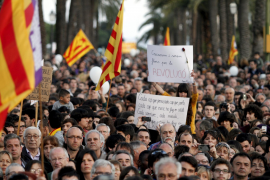 Tausende demonstrieren fürs Catalán