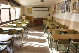 Generalstreik auf Mallorca. In der Schule Son Pacs fiel der Unterricht aus.