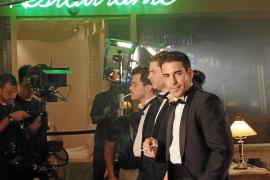 "Dreharbeiten zu ""Los Pelayos"" im Casino."