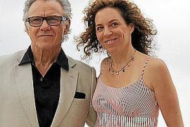 Auf der Suche nach neuen Insellocations: Harvey Keitel und Gattin in Palma.