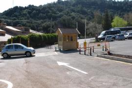 Kloster Lluc verlangt Parkgebühr