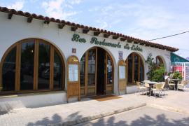 """Das derzeit noch existierende Gebäude des Restaurants """"La Lubina""""."""