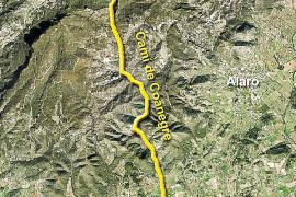 Durch das Coanegra-Tal verlief einst der Mauleselpfad von Santa Maria nach Orient.