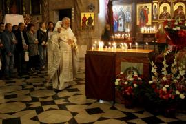 Orthodoxe Osterfeier in Palma.