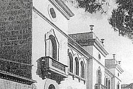 """Das """"Haus des Volkes"""", errichtet 1922 bis 1924, vom Geld des Multi-Millionärs Juan March Ordinas."""