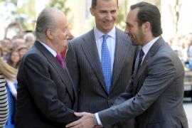 Ministerpräsident Bauzá heißt König Juan Carlos und Kronprinz Felipe weiterhin willkommen auf der Insel.