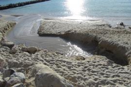 Port de Sóller – Neuer Strand verliert weiter Sand