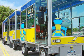 Cala d'Or – Bimmelbahn mit Solarantrieb