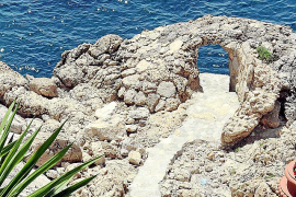 Zugang zum Meer.