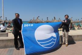 Blaue Flaggen für Palma
