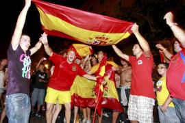 Mallorca feiert die Selección