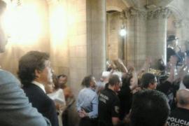 Sturm auf Palmas Rathaus