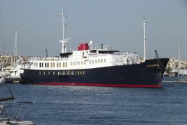 Mini-Kreuzfahrtschiff als Privatyacht