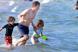 Briten-Premier geht baden
