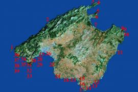 Inseln rund um die Insel