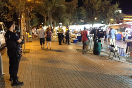 Null Toleranz für Straßenhändler auf Mallorca