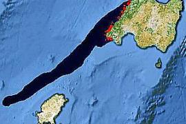 In einem der Szenarien würde Mallorcas Südwestküste eine Ölpest erleben.