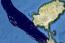 In diesem Szenario würde der Ölteppich direkt nach Ibiza und Formentera treiben.