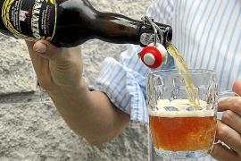 Das unfiltrierte und nicht pasteurisierte Galatzó-Bier aus Galilea wird in Pfandflaschen mit Bügelverschluss verkauft.