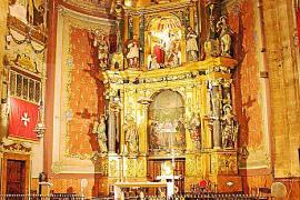 """Ave María"": Meditative Musik in der Pfarrkirche ""Nostra Senyora del Angels""."