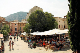 Auch auf der Plaça Martorell ist der Café-Genuss das reinste Vergnügen.