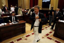 Er warf hin: Der zurückgetretene Gesundheitsminister Antoni Mesquida.