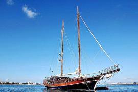 """Die """"Alaina"""" überwintert regelmäßig in Palmas Yachthafen."""