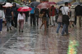 Regen hat Mallorca im Griff