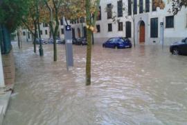 Regen flutet Mallorca