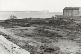 So sah Ses Covetes vor dem Bau der Apartmenthäuser aus.