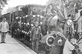 Seit 1875 verkehren Züge auf Mallorca, 1912 wurde die Palma-Sóller-Bahn (l.) in Betrieb genommen.
