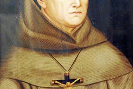 So soll er ausgesehen haben: Fray Junípero Serra.