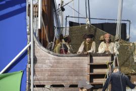 Piratenschiff im Hafen von Palma