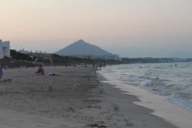 Aufatmen an der Playa de Muro