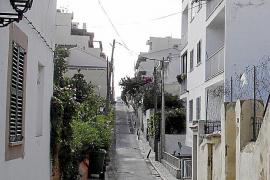 Eine der ruhigen Straßen im El-Terreno-Viertel. Sie ist so schmal, das Autos nicht parken können.