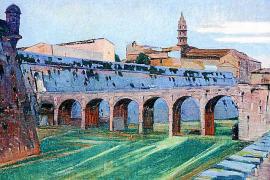 Palma, gemalt von Antoni Gelabert.