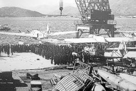 In der Bucht von Pollença waren die Wasserflugzeuge der Italiener, der Legion Condor sowie der franquistischen Luftwaffe station