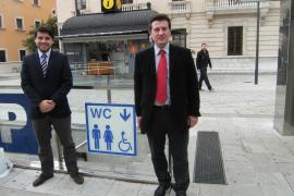 Parkhaus-Toiletten jetzt öffentlich