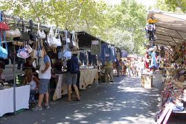 Streit um Flohmarkt in Palma