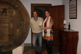 Weinprobe in der Familien-Bodega