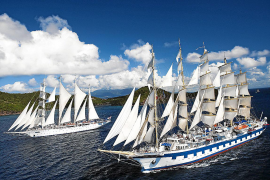 Größtes Segelschiff der Welt kommt nach Mallorca