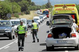 Wenn es zwischen Llucmajor und Campos mal wieder einen Unfall gegeben hat, dann stauen sich die Autos schnell kilometerweit.